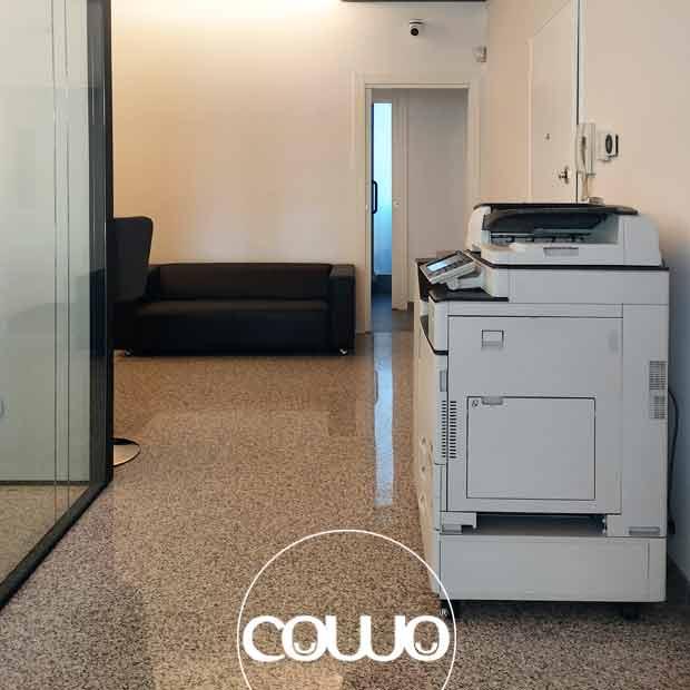 Interno spazio Coworkng a Vanzago (Milano)